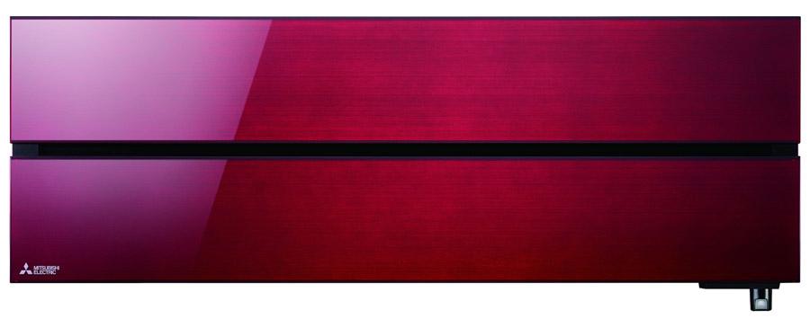 Sistemi di climatizzazione unità a parete Mitsubishi Kirigamine MSF-LN rosso